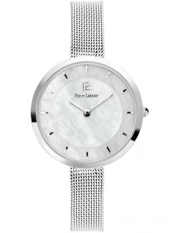 Montre femme Pierre Lannier acier bracelet milanais