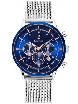 Montre homme Pierre Lannier chrono bracelet acier