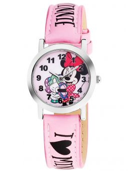 Montre enfant AM:PM Disney rose Minnie