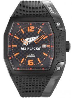 Montre homme All Blacks étanche noire et orange