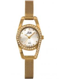 Montre femme Certus Joalia empierrée bracelet milanais