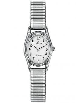 Montre Femme Certus argentée bracelet extensible