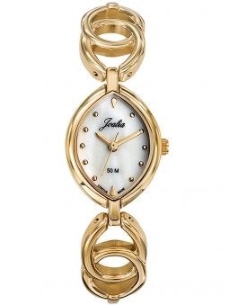 Montre femme Certus Joalia dorée fond nacré