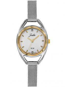 Montre femme Certus Joalia bicolore bracelet milanais