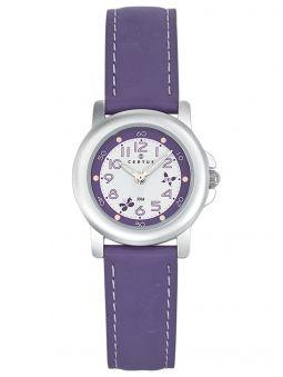 Montre enfant Certus papillon violette