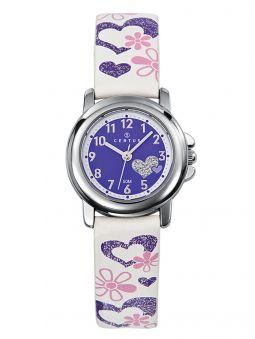 Montre fille Certus bracelet cuir