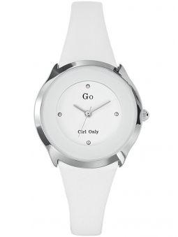 Montre femme Go design bracelet blanc