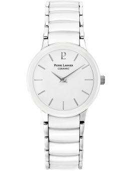Montre femme Pierre Lannier céramique blanche