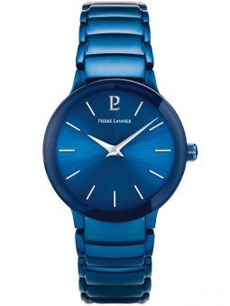 Montre femme Pierre Lannier acier bleu