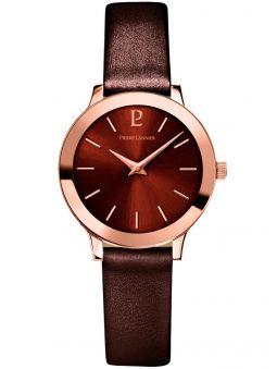Montre femme Pierre Lannier cuir brun