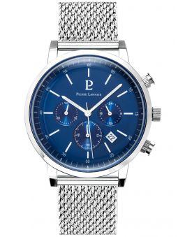 Montre homme Pierre Lannier bracelet milanais chronographe