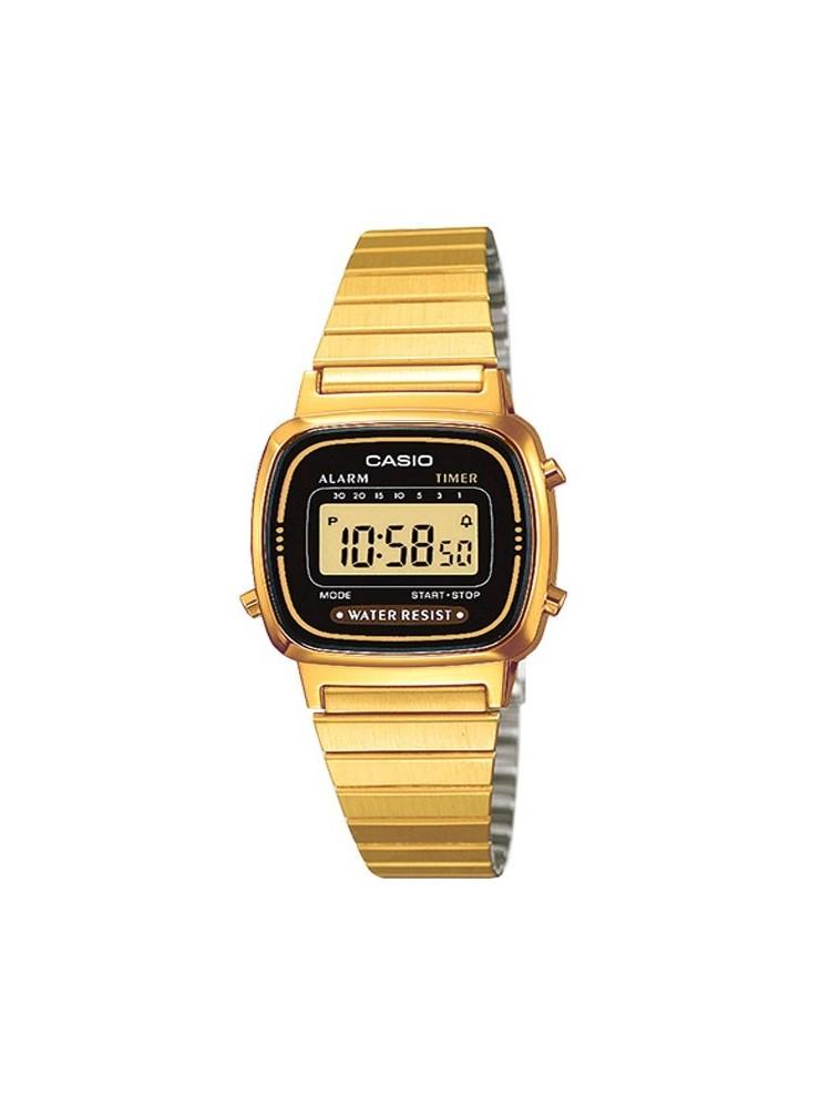 Montre Casio Vintage couleur dorée