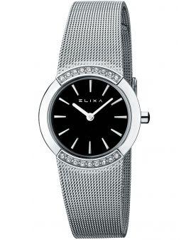 Montre femme Elixa tout acier bracelet milanais