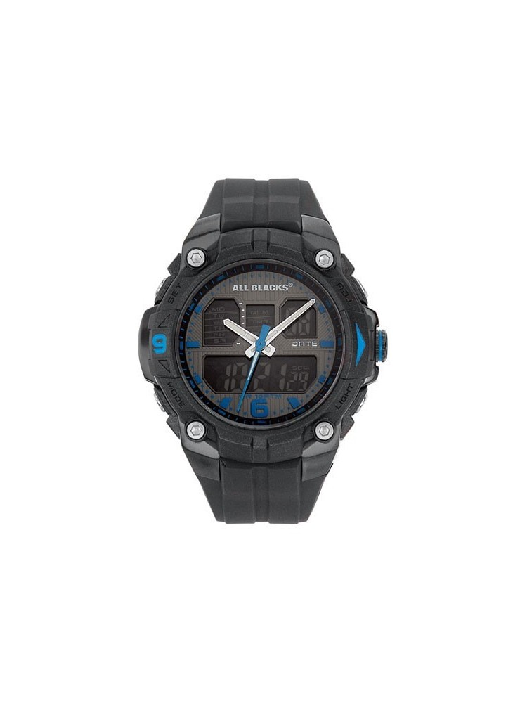 Montre double affichage - All Blacks 680025