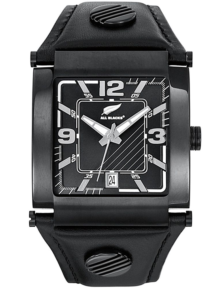 Montre homme All Blacks noire