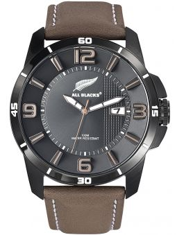 Montre homme All Blacks marron