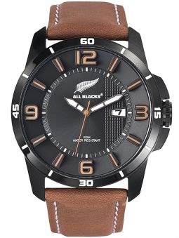 Montre homme All Blacks marron clair