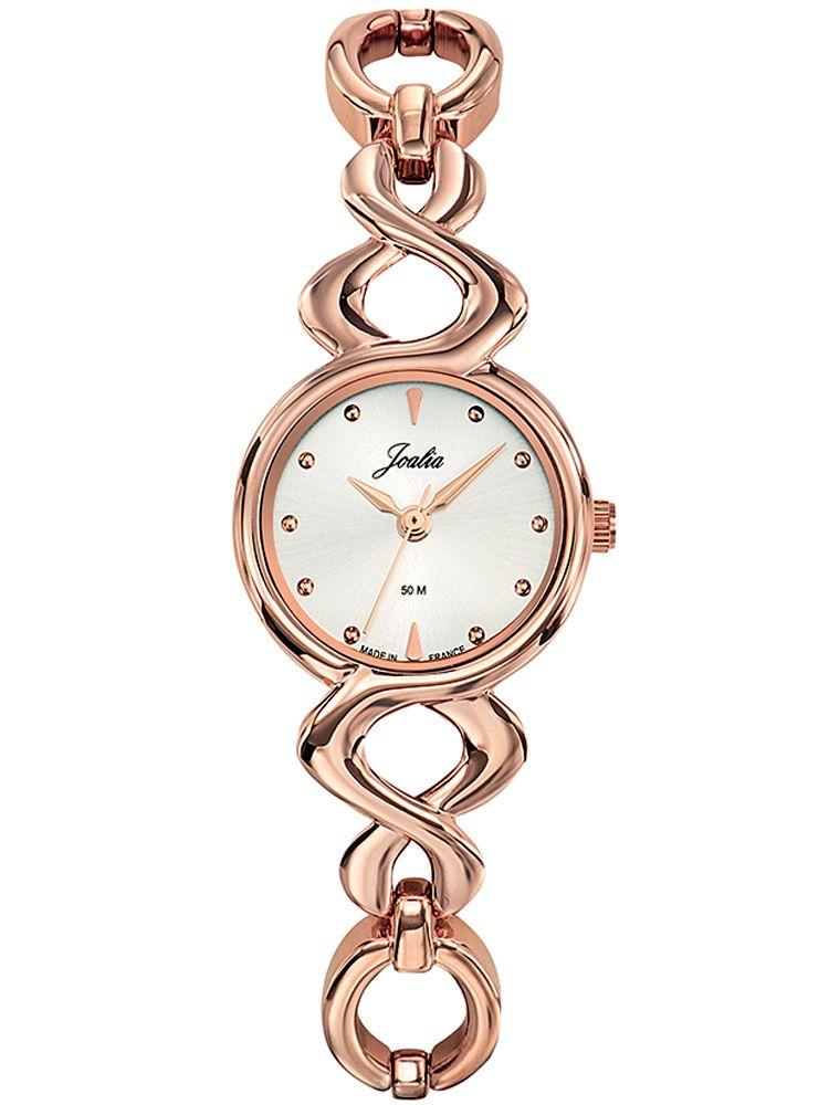 Montre femme Certus Joalia dorée rose en métal
