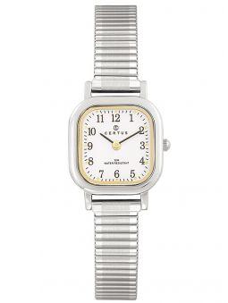 Montre femme Certus argentée et dorée bracelet extensible