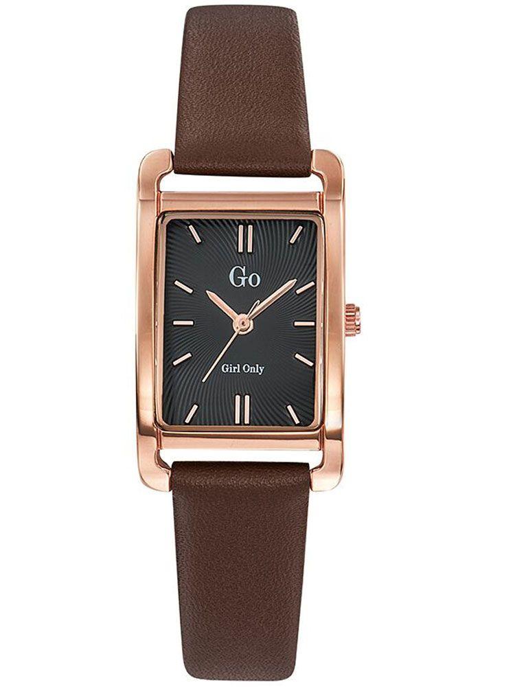 montres rectangulaires femmes bracelet cuir