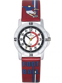 Montre enfant Certus football bleue