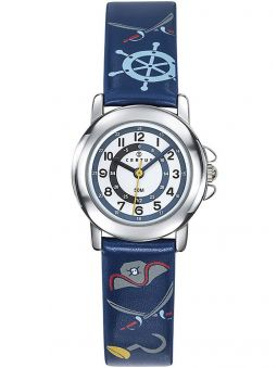 Montre enfant Certus pirate bleue