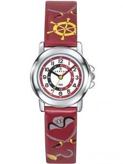 Montre enfant Certus pirate rouge