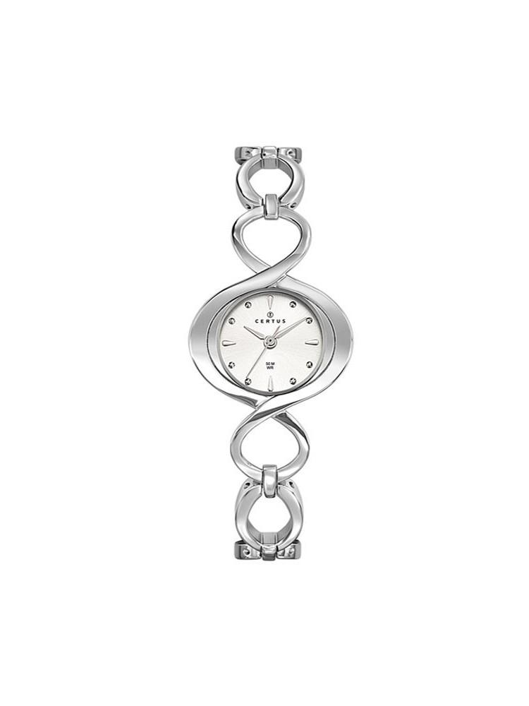 Montre femme Certus Joalia bracelet entrelacé