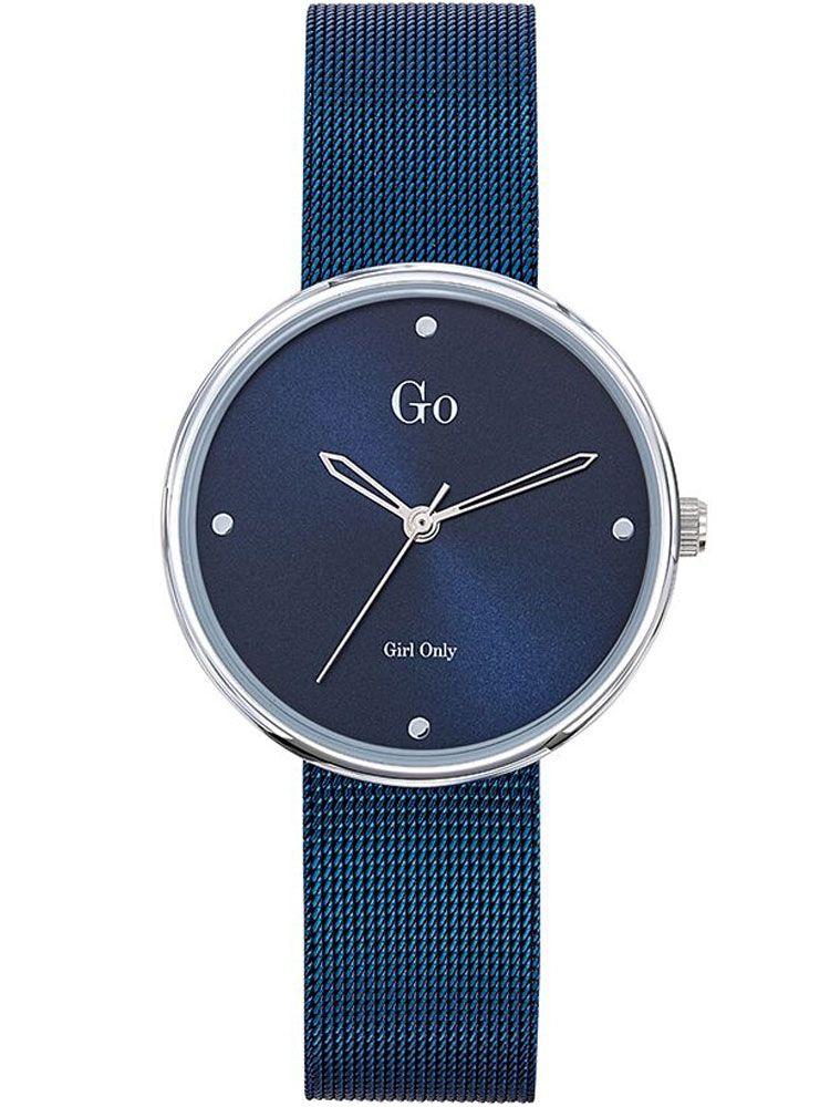 Montre femme Go Girl Only bracelet milanais bleu