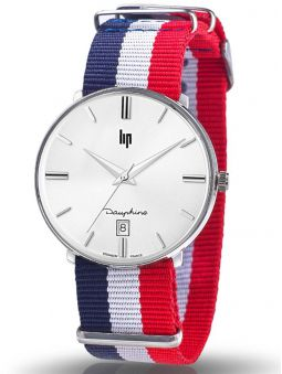 Montre LIP DAUPHINE tricolore
