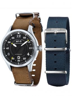 Coffret Montre homme automatique AVI-8 HAWKER HURRICANE