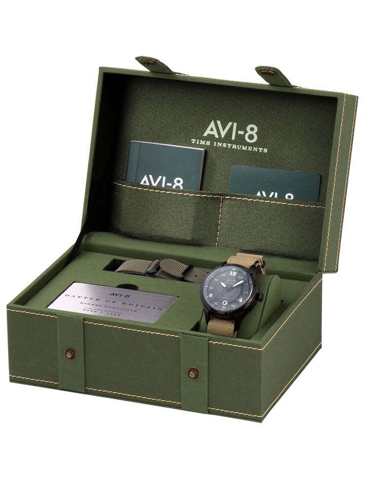 Coffret Montre homme automatique AVI-8 HAWKER HURRICANE