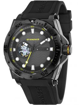 Montre homme SPINNAKER OVERBOARD automatique bracelet silicone