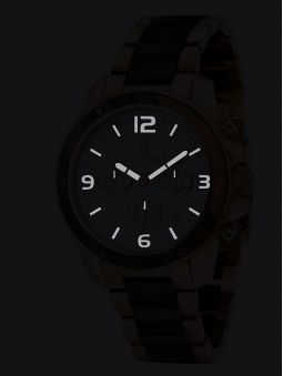 Montre homme SPINNAKER VESSEL bracelet acier PVD noir et bois