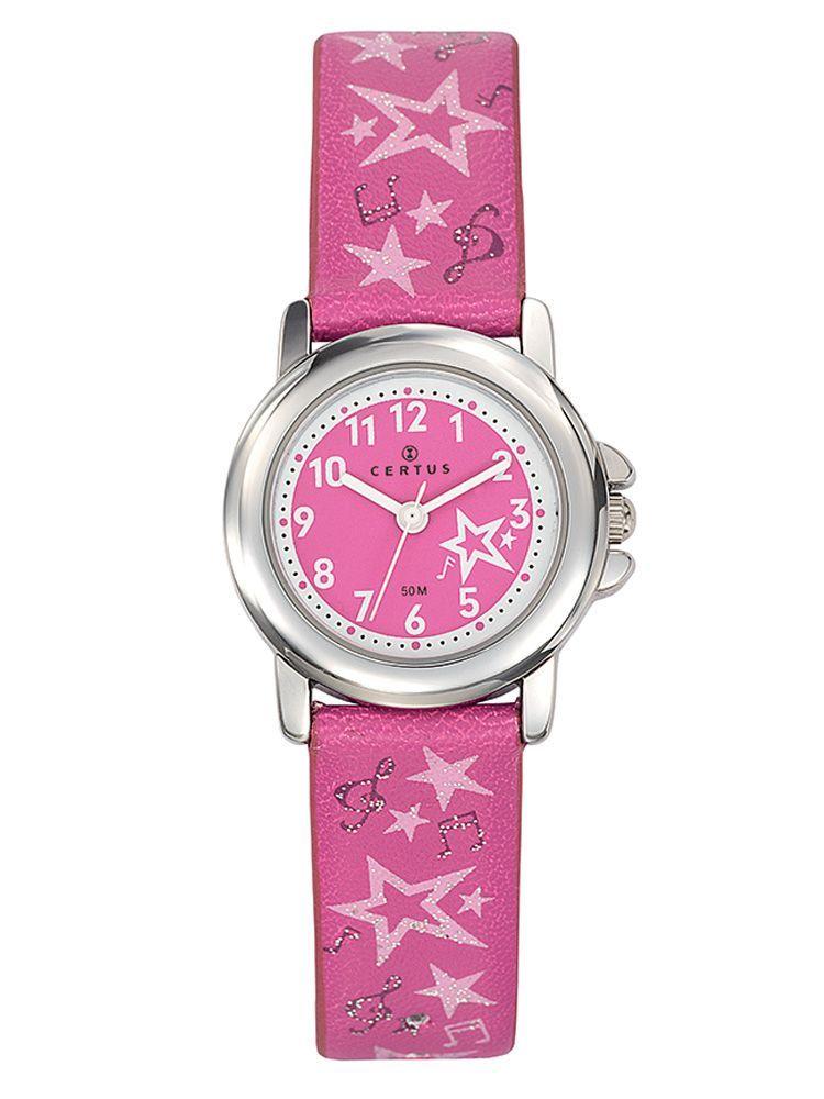 Bracelet de montre Certus étoile rose