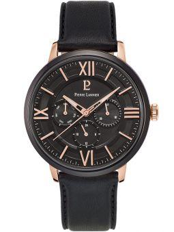 Montre homme Pierre Lannier chrono noire