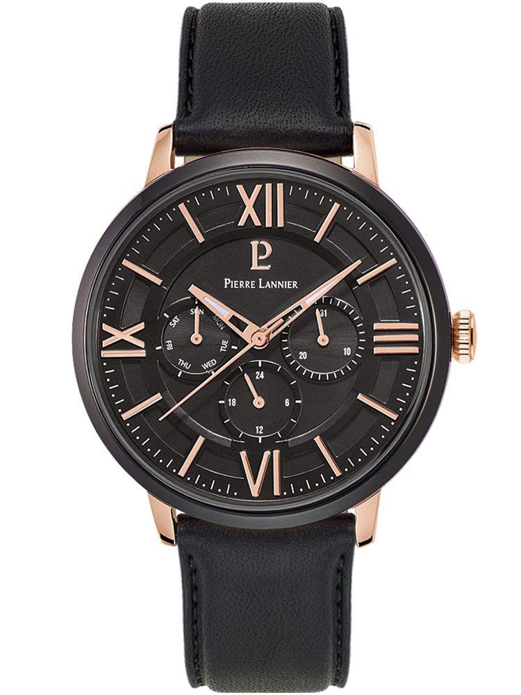 Montre homme Pierre Lannier chrono noire b491746d2b1