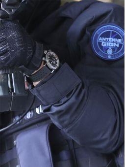 Montre homme LIP automatique Grande Nautic Ski GIGN - Edition limitée