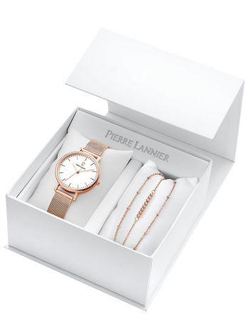 Coffret de montre femme Pierre Lannier 2 bracelets