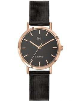 Montre femme Go Girl Only bracelet milanais noir