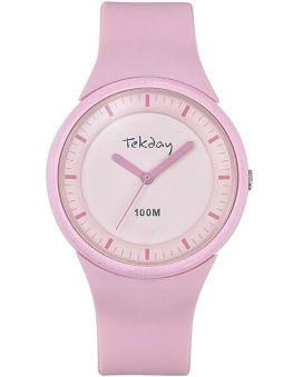 Montre femme Tekday rose