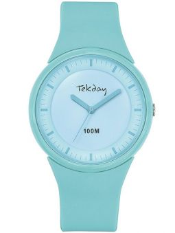 Montre femme Tekday bleue