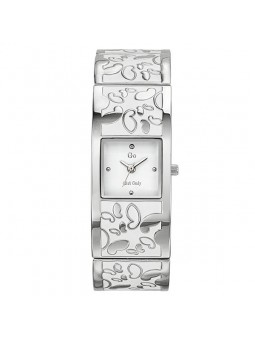 Montre Go Girl Only motif papillon blanc