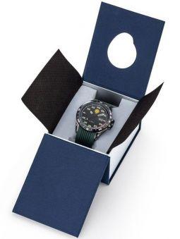 Montre homme Patrouille de France Athos 2 bracelet silicone vert kaki