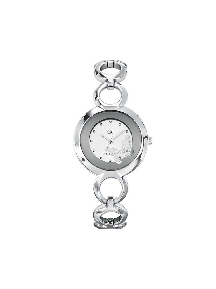 Montre femme Go Girl Only papillon argent
