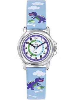 Montre enfant Certus dinosaure bleu
