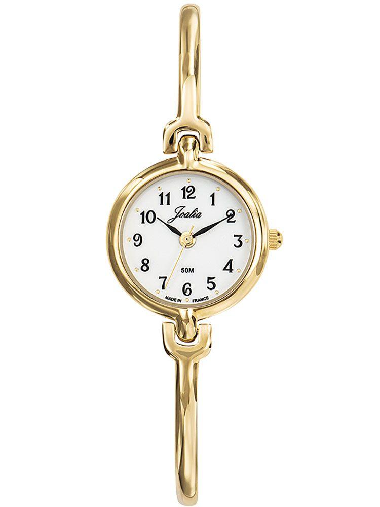 Montre femme dorée Certus Joalia bracelet fin