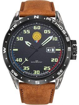 Montre homme Patrouille de France Athos 2 bracelet cuir