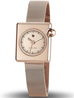 Montre femme LIP Mach 2000 Mini Square 671117
