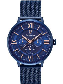 Montre homme Pierre Lannier bracelet milanais bleu 255F466